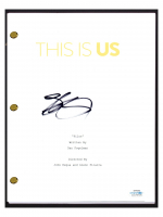 "Justin Hartley Signed ""This Is Us"" Pilot Episode Script (AutographCOA COA) at PristineAuction.com"
