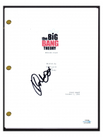"Kunal Nayyar Signed ""The Big Bang Theory"" Pilot Episode Script (AutographCOA COA) (See Description) at PristineAuction.com"