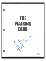 "Andrew Lincoln Signed ""The Walking Dead"" Pilot Episode Script (AutographCOA COA) at PristineAuction.com"
