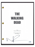 "Norman Reedus Signed ""The Walking Dead"" Pilot Episode Script (AutographCOA COA) at PristineAuction.com"