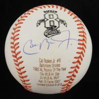 Cal Ripken Jr. Signed LE OAL Career Stat Engraved Baseball (JSA COA) (See Description) at PristineAuction.com