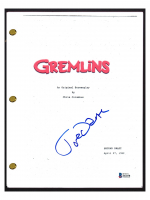 "Joe Dante Signed ""Gremlins"" Movie Script (Beckett COA) at PristineAuction.com"
