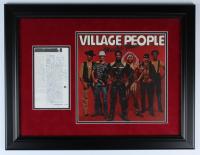 """Village People"" 20x25 Custom Framed Photo Display Signed by (6) including Felipe Rose, Jeff Olson, David Hodo, Alex Briley (Beckett LOA) at PristineAuction.com"