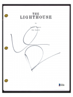 "Willem Dafoe Signed ""The Lighthouse"" Movie Script (Beckett COA) at PristineAuction.com"