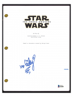 "Cailey Fleming Signed ""Star Wars: The Force Awakens"" Movie Script (Beckett COA) at PristineAuction.com"