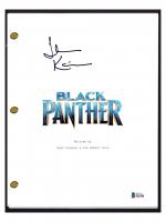 "John Kani Signed ""Black Panther"" Movie Script (Beckett COA) at PristineAuction.com"