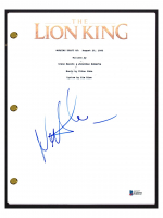 "Nathan Lane Signed ""Lion King"" Movie Script (Beckett COA) at PristineAuction.com"