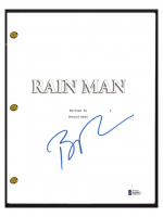 "Barry Levinson Signed ""Rain Man"" Movie Script (Beckett COA) at PristineAuction.com"