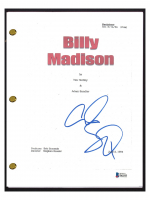 "Adam Sandler Signed ""Billy Madison"" Movie Script (Beckett COA) at PristineAuction.com"
