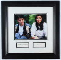 "Matthew Broderick & Mia Sara Signed ""Ferris Bueller's Day Off"" 18x18 Custom Framed Photo Display (Beckett LOA) at PristineAuction.com"