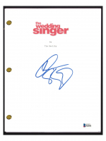 "Adam Sandler Signed ""The Wedding Singer"" Movie Script (Beckett COA) at PristineAuction.com"
