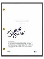 "James Gunn Signed ""Guardians of the Galaxy Vol. 2"" Movie Script (Beckett COA) at PristineAuction.com"