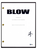 "George Jung Signed ""Blow"" Movie Script (Beckett COA) at PristineAuction.com"