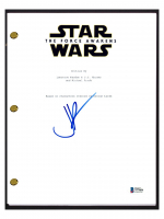 "JJ Abrams Signed ""Star Wars: The Force Awakens"" Movie Script (Beckett COA) at PristineAuction.com"