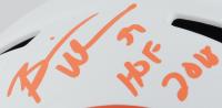 "Brian Urlacher Signed Bears Full-Size Lunar Eclipse Alternate Speed Helmet Inscribed ""HOF 2018"" (Beckett COA) at PristineAuction.com"