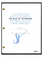 "JJ Abrams Signed ""Star Wars The Rise of Skywalker"" Movie Script (Beckett COA) at PristineAuction.com"