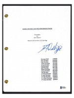 """Daniel Radcliffe Signed """"Harry Potter & The Sorcerer's Stone"""" Movie Script (Beckett COA) at PristineAuction.com"""