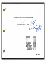 "Daniel Radcliffe Signed ""Harry Potter & The Sorcerer's Stone"" Movie Script (Beckett COA) at PristineAuction.com"