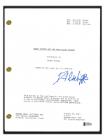 "Daniel Radcliffe Signed ""Harry Potter & The Half-Blood Prince"" Movie Script (Beckett COA) at PristineAuction.com"