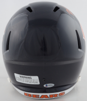 "Brian Urlacher Signed Bears Full-Size Speed Helmet Inscribed ""HOF 2018"" (Beckett COA) at PristineAuction.com"