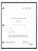 "Daniel Radcliffe Signed ""Harry Potter and the Half-Blood Prince"" Movie Script (Beckett COA) at PristineAuction.com"