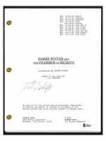 "Daniel Radcliffe Signed ""Harry Potter & The Chamber of Secrets"" Movie Script (Beckett COA) at PristineAuction.com"