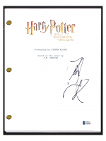 "Daniel Radcliffe Signed ""Harry Potter and the Chamber of Secrets"" Movie Script (Beckett COA) at PristineAuction.com"