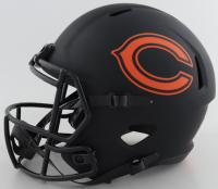 "Brian Urlacher Signed Bears Full-Size Eclipse Alternate Speed Helmet Inscribed ""HOF 2018"" (Beckett COA) at PristineAuction.com"