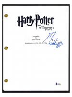 "Daniel Radcliffe Signed ""Harry Potter & The Philosopher's Stone"" Movie Script (Beckett COA) at PristineAuction.com"