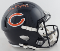 David Montgomery Signed Bears Full-Size Speed Helmet (Beckett COA) at PristineAuction.com
