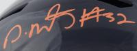 David Montgomery Signed Bears Full-Size Speed Helmet (Beckett COA) at PristineAuction.com