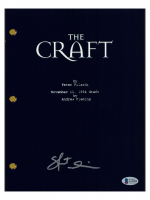 "Skeet Ulrich Signed ""The Craft"" Movie Script (Beckett COA) at PristineAuction.com"
