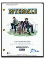 "Skeet Ulrich Signed ""Riverdale"" Pilot Episode Script (Beckett COA) at PristineAuction.com"