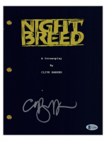 """Clive Barker Signed """"Nightbreed"""" Movie Script (Beckett COA) at PristineAuction.com"""