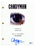 """Clive Barker Signed """"Candyman"""" Movie Script (Beckett COA) at PristineAuction.com"""