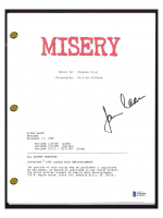 """James Caan Signed """"Misery"""" Movie Script (Beckett COA) at PristineAuction.com"""