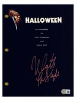 "Nick Castle Signed ""Halloween"" Movie Script (Beckett Hologram) at PristineAuction.com"