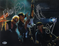The Scorpions 11x14 Photo Signed by (3) with Rudolf Schenker, Klaus Meine & Matthias Jabs (Beckett LOA) at PristineAuction.com