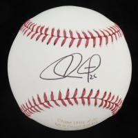 Chase Utley Signed LE OML Career Stat Engraved Baseball (JSA COA) at PristineAuction.com