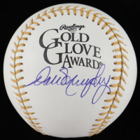 Dale Murphy Signed Gold Glove Award Baseball (PSA COA) at PristineAuction.com