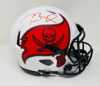 Tom Brady Signed Buccaneers Full-Size Authentic On-Field Lunar Eclipse Speed Helmet (Fanatics LOA) at PristineAuction.com