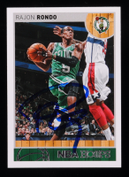 Rajon Rondo Signed 2013-14 Hoops #229 (JSA COA) at PristineAuction.com