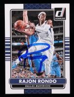 Rajon Rondo Signed 2014-15 Donruss #2 (JSA COA) at PristineAuction.com