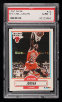 Michael Jordan 1990-91 Fleer #26 (PSA 9) at PristineAuction.com