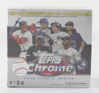 2020 Topps Chrome Update Series Baseball Mega Box with (7) Packs at PristineAuction.com
