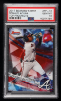 Ronald Acuna 2017 Bowman's Best Top Prospects #TP10 (PSA 10) at PristineAuction.com