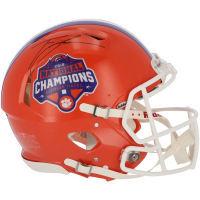 Trevor Lawrence Signed Clemson Tigers 2018 National Champions Full-Size Authentic On-Field Speed Helmet (Fanatics Hologram) at PristineAuction.com
