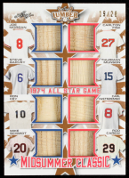 2021 Leaf Lumber Midsummer Classic #MC08 Joe Morgan/Steve Garvey/Ron Cey/Mike Schmidt/Carlton Fisk/Thurman Munson/Carl Yastrzemski/Rod Carew #19/20 at PristineAuction.com
