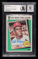 Bob Gibson Signed 1988 Topps #664 TBC '68 (BGS Encapsulated) at PristineAuction.com
