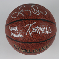 Larry Bird, Kevin McHale & Robert Parish Signed NBA Basketball (Schwartz COA & Bird Hologram) at PristineAuction.com